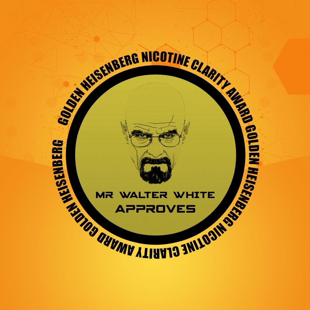 Golden Heisenberg Nicotine Clarity Award